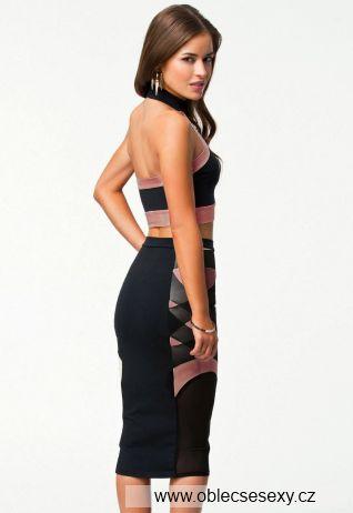 Sexy levný set sukně a topu