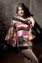 Kostým japonská geisha