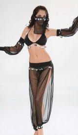 Arabská břišní tanečnice