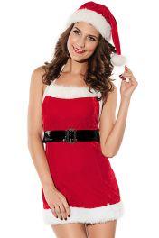Trojdílný sexy Vánoční kostým