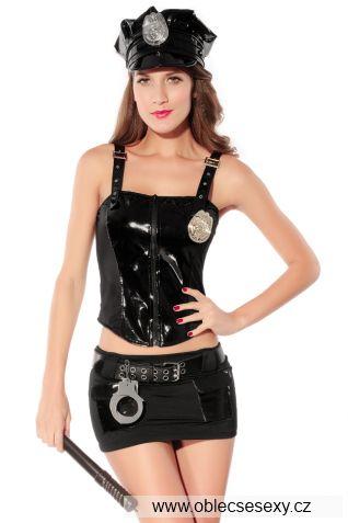Dvoudílný kostým policistka