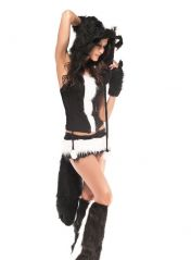 Kostým skunk, dámský kostým skunka