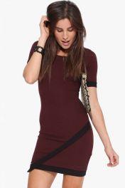 Rudé krátké šaty