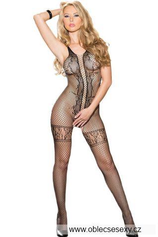 Erotické síťované bodystocking na sex