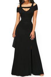 Šaty černé dlouhé