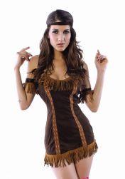 Indiánský dámský kostým