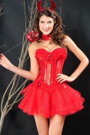 Červený kostým ďáblice