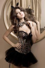 Leopardí sexy kostým