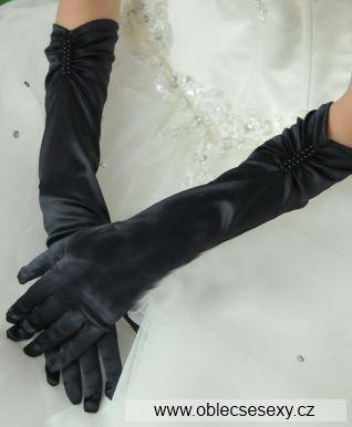 Černé rukavice