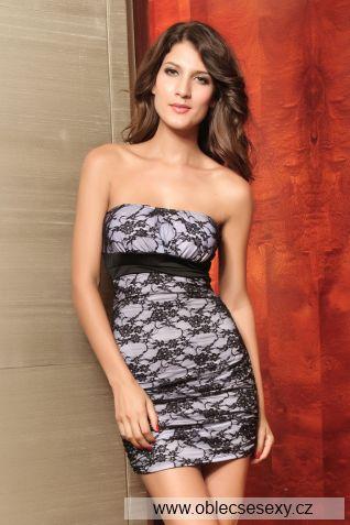Elegantní krajkové mini šaty