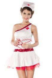 Dámský kostým zdravotní sestra