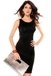 Černé šaty clubwear