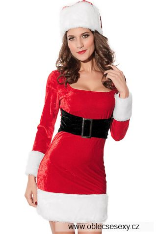 Vánoční dámský kostým Santa Claus