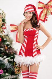 Vánoční kostým Candy