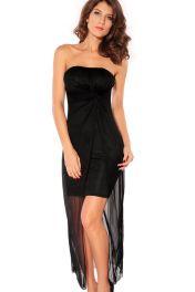 Černé šaty Uma