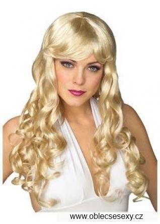 Blond dámská paruka